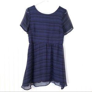 Gorgeous LUSH Navy Blue Dress